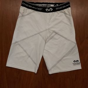NWOT McDavid cross compression shorts